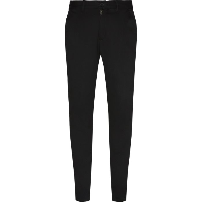 Ponte Roma Plain - Bukser - Slim - Sort