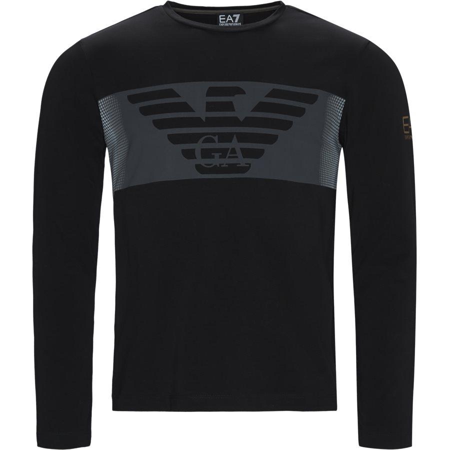 6GPT59-PJQ9Z - PJQ9Z LS Tee - T-shirts - Regular - SORT - 1
