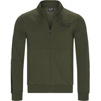 PJ07Z Zip Sweatshirt Regular | PJ07Z Zip Sweatshirt | Grøn
