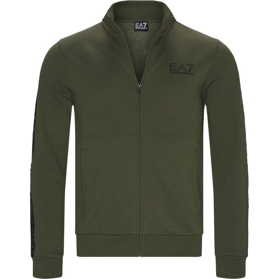 6GPM31-PJ07Z - PJ07Z Zip Sweatshirt - Sweatshirts - Regular - GRØN - 1