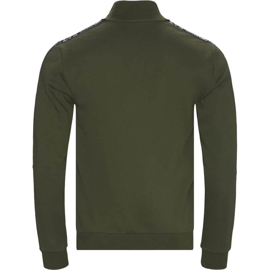 6GPM31-PJ07Z - PJ07Z Zip Sweatshirt - Sweatshirts - Regular - GRØN - 2