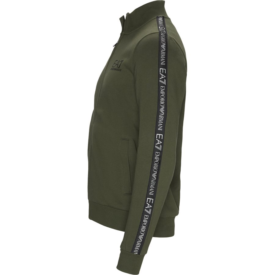 6GPM31-PJ07Z - PJ07Z Zip Sweatshirt - Sweatshirts - Regular - GRØN - 3