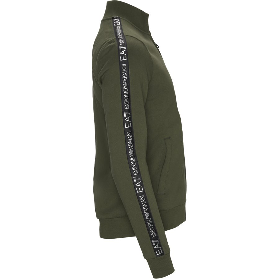 6GPM31-PJ07Z - PJ07Z Zip Sweatshirt - Sweatshirts - Regular - GRØN - 4