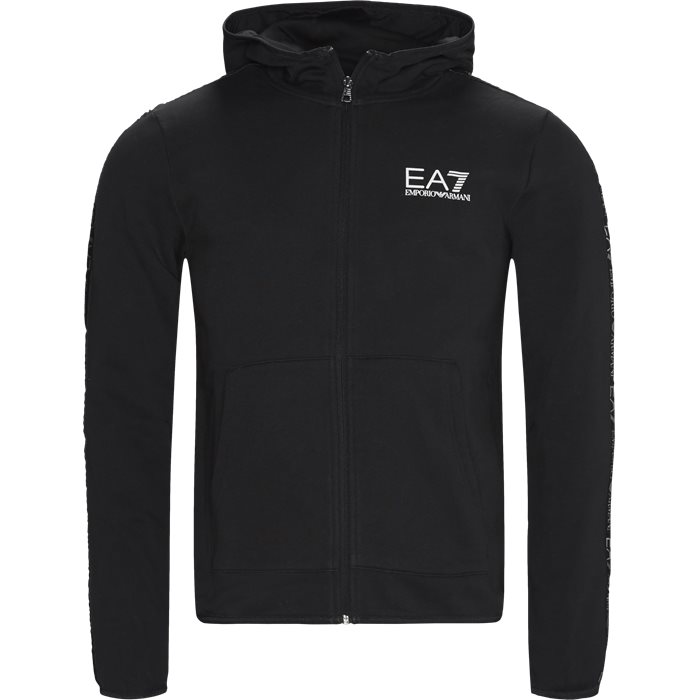 Zip Sweatshirt - Sweatshirts - Regular - Sort