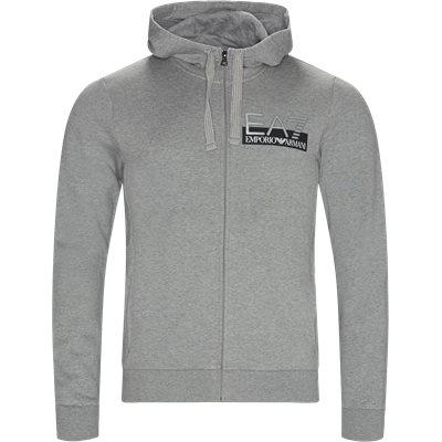 PJ07Z Zip Sweatshirt Regular | PJ07Z Zip Sweatshirt | Grå