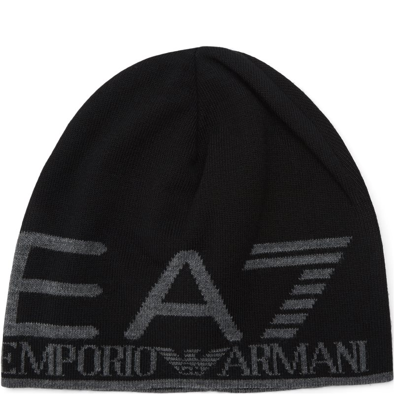 Image of   Ea7 Train Visibility Beanie Hat Sort