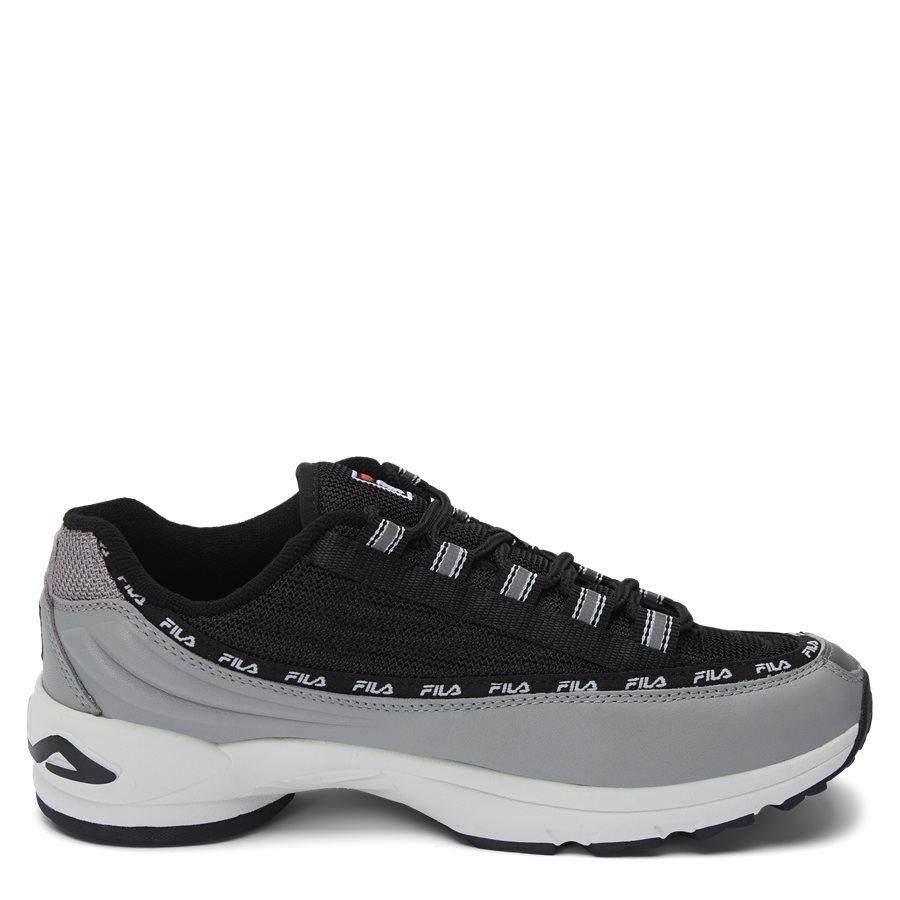 DSTR97 1010570 - DSTR97 Sneaker - Sko - SORT - 2