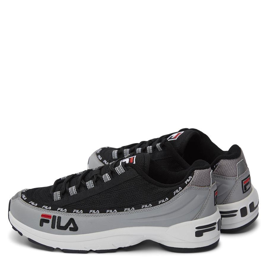 DSTR97 1010570 - DSTR97 Sneaker - Sko - SORT - 3
