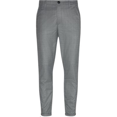 Pisa Cross Pants Regular | Pisa Cross Pants | Grå
