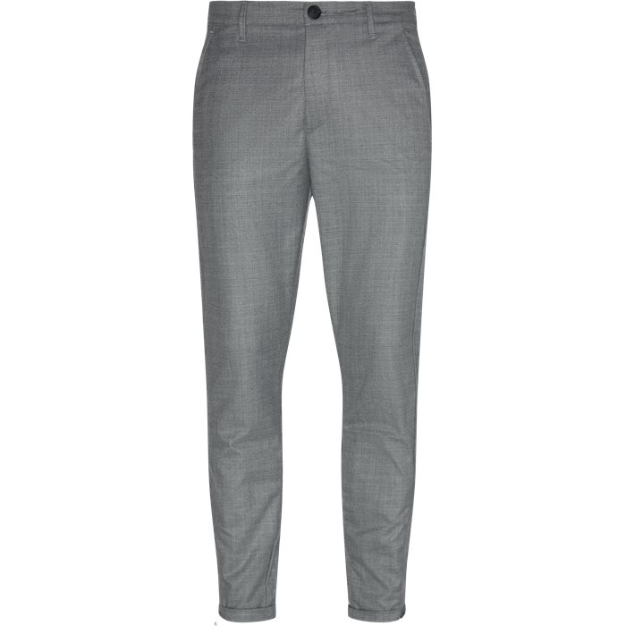 Pisa Cross Pants - Bukser - Regular - Grå
