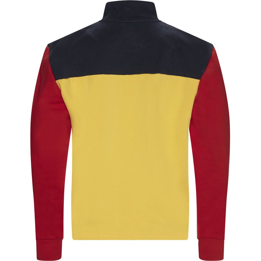 RETRO BLOCK TROYER 3755139 - Retro Block Troyer Sweatshirt - Sweatshirts - Regular - GUL - 2