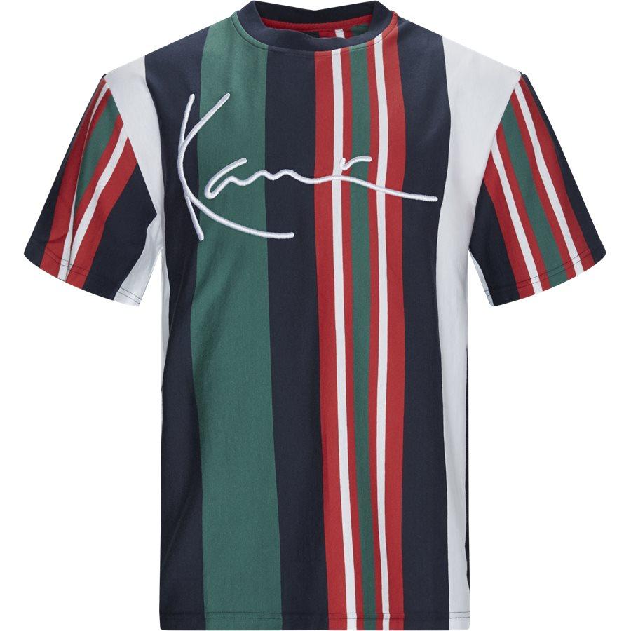SIGNATURE STRIPE TEE 3754932 - Signature Stripe Tee - T-shirts - Regular - HVID - 1