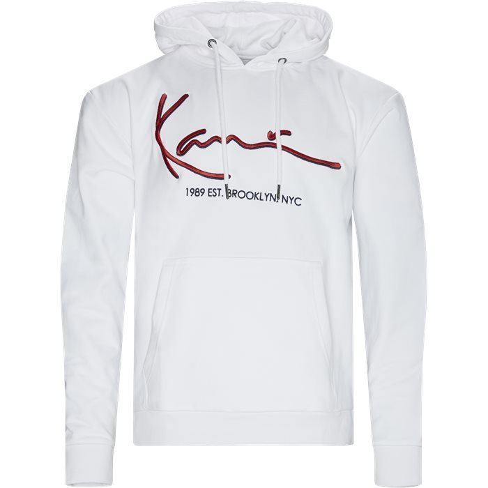 Signature Hoodie - Sweatshirts - Regular - Hvid