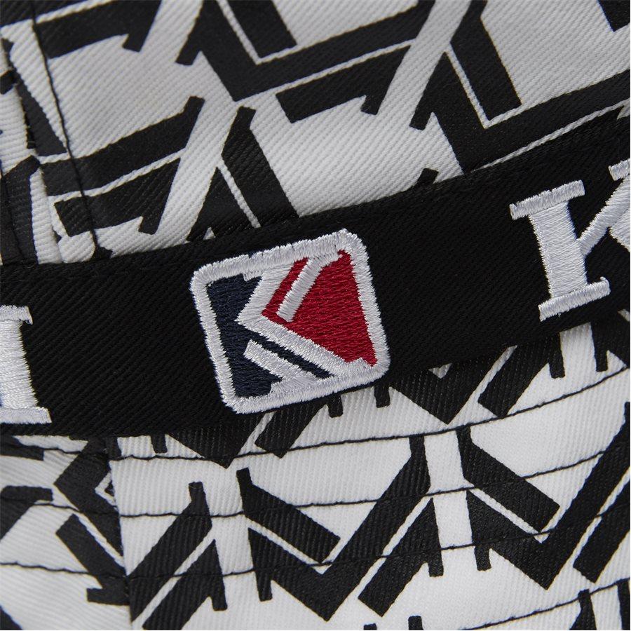 RETRO BUCKET HAT 3748169 - Retro Bucket Hat - Caps - HVID/SORT - 5