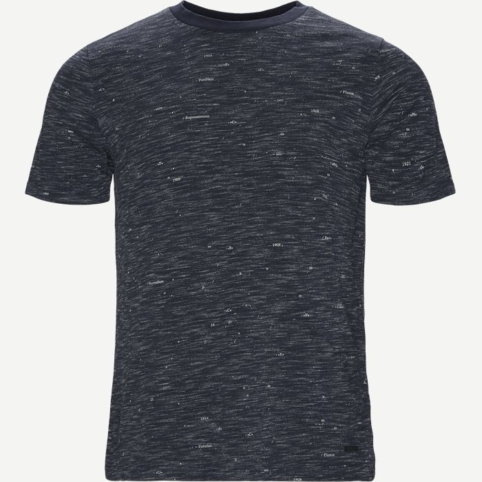 T-Shirts - Casual fit - Blau