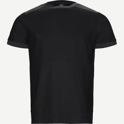 Tahoma Crewneck T-shirt Regular | Tahoma Crewneck T-shirt | Sort