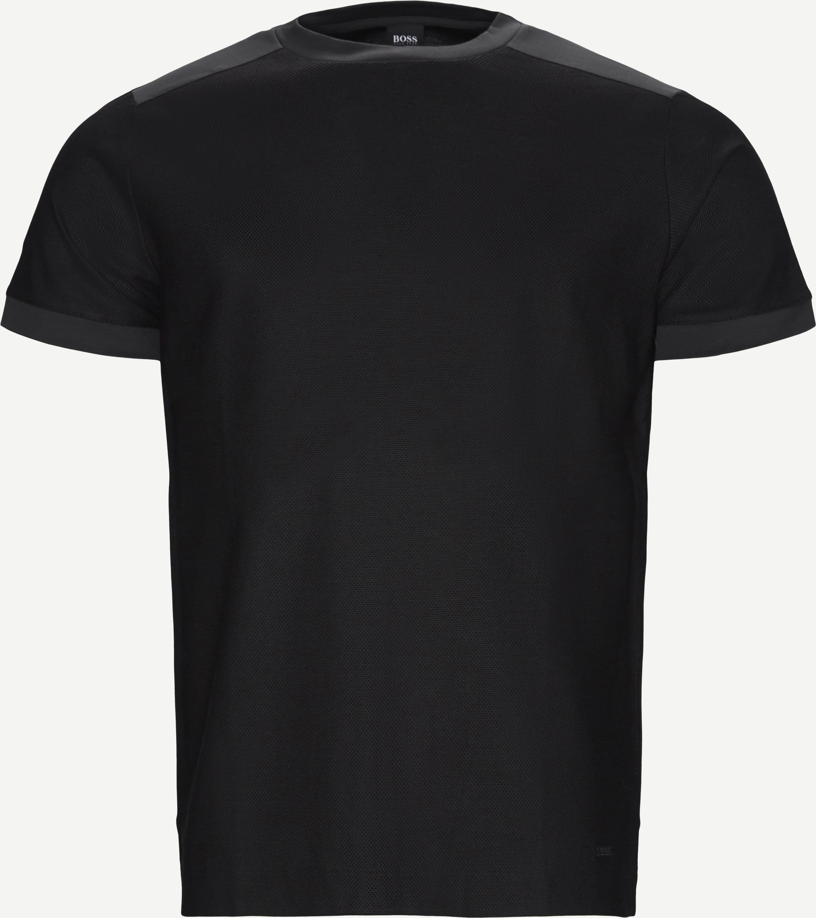 Tahoma Crewneck T-shirt - T-shirts - Regular - Sort
