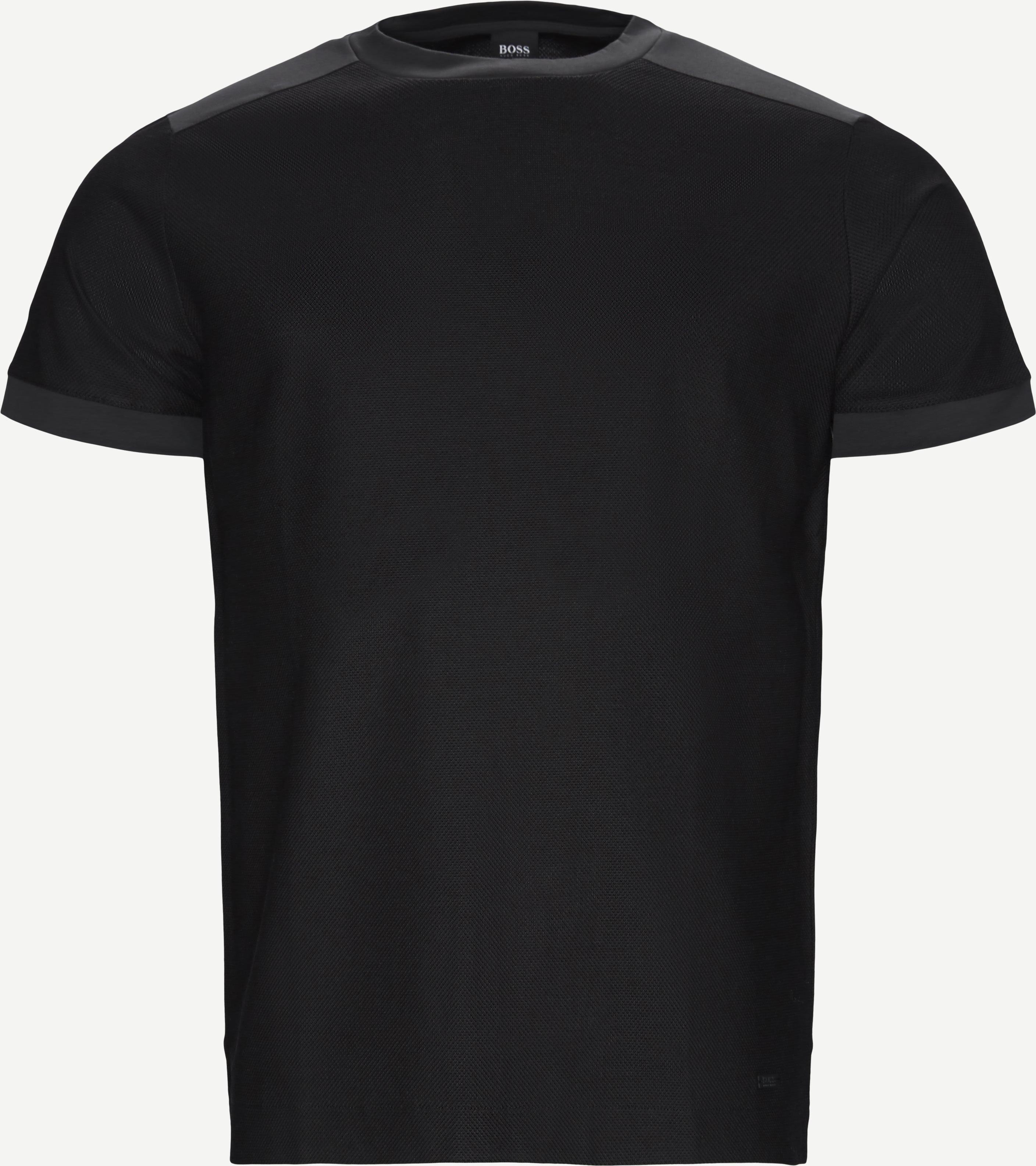 T-shirts - Regular - Black