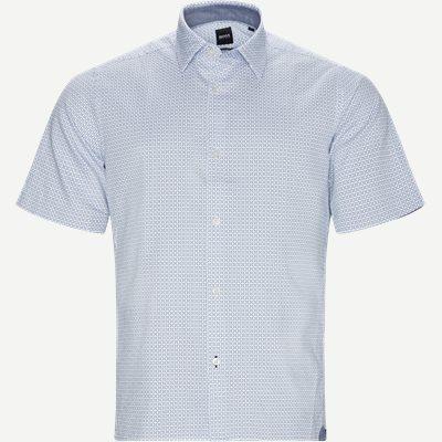 Lukka_2F Kortærmet Skjorte Regular | Lukka_2F Kortærmet Skjorte | Blå