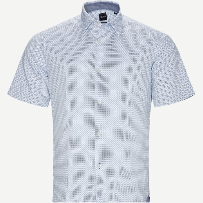 Shirt-sleeved shirts - Regular - Blue
