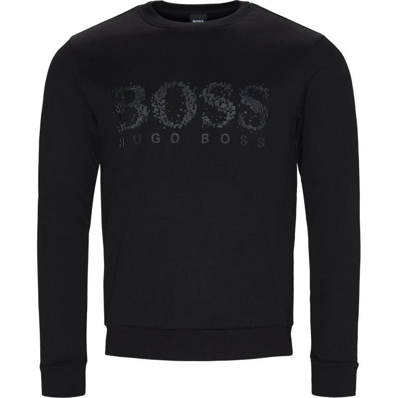 boss athleisure Boss athleisure - salbo iconic crewneck sweatshirt fra kaufmann.dk