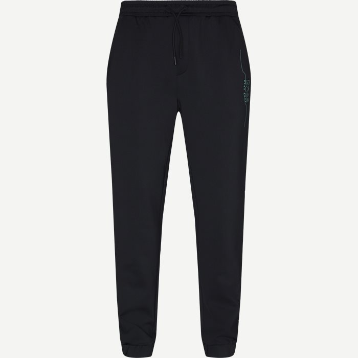 Hicon Trackpants - Bukser - Slim - Sort
