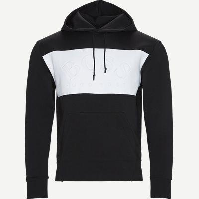 Regular | Sweatshirts | Svart