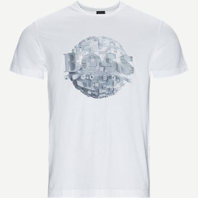 Tee4 T-shirt Regular | Tee4 T-shirt | Hvid