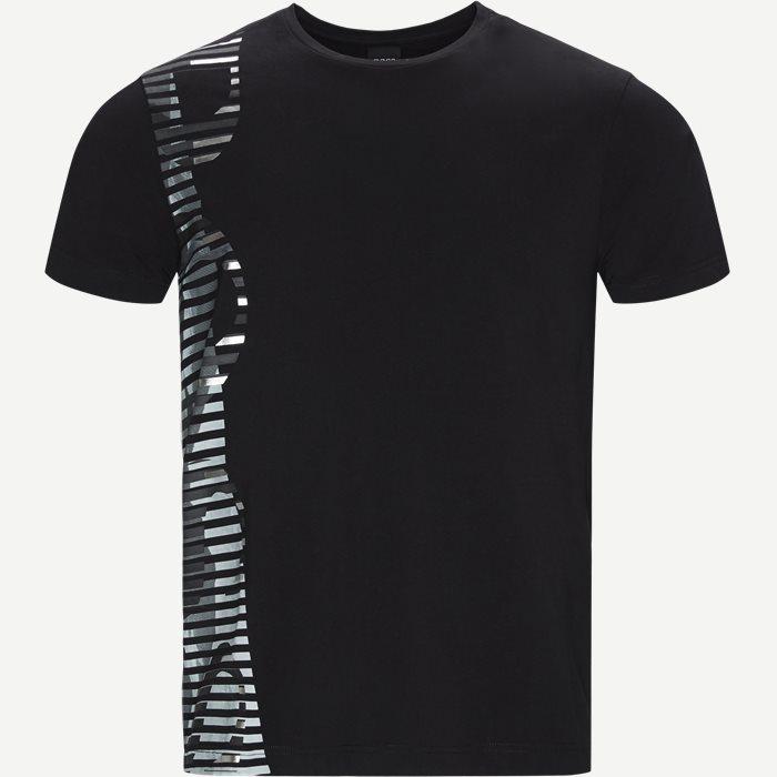 T-Shirts - Regular - Schwarz