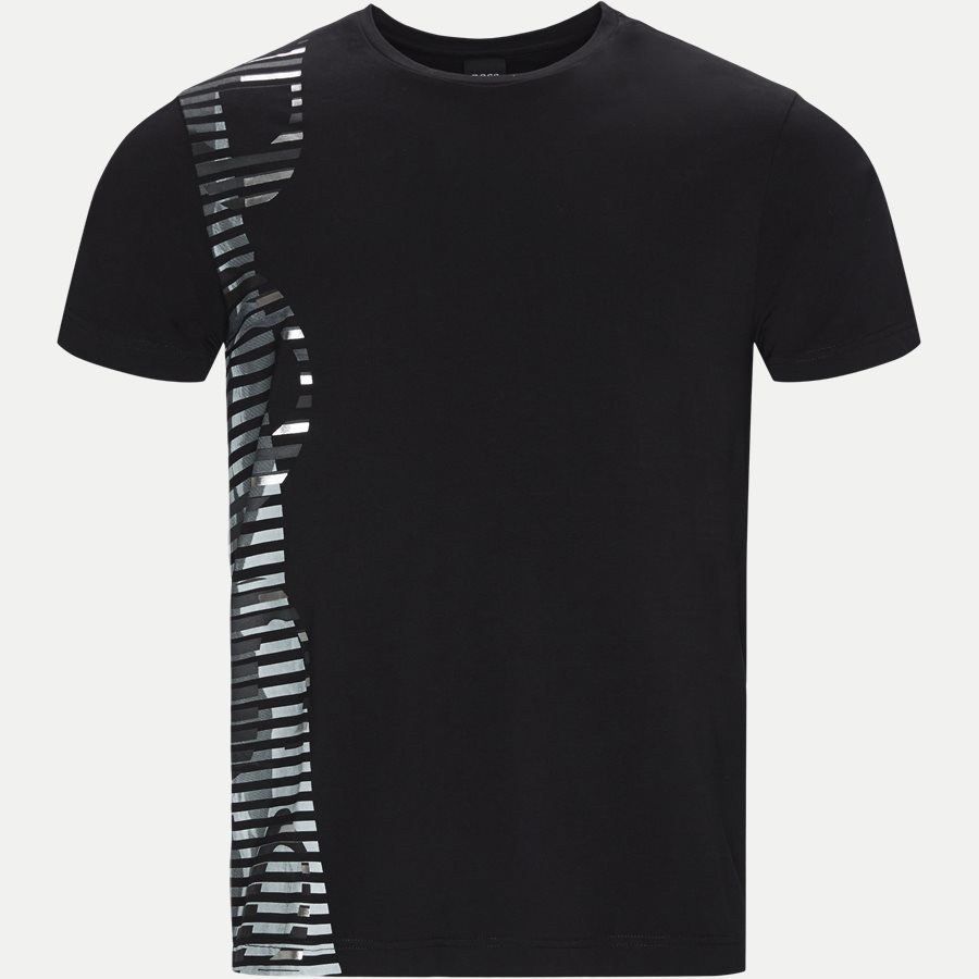 50410479 TEE 9 - Tee 9 T-shirt - T-shirts - Regular - SORT - 1