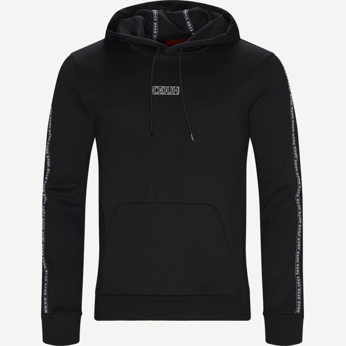Dercolano Hoodie - Sweatshirts - Regular - Sort