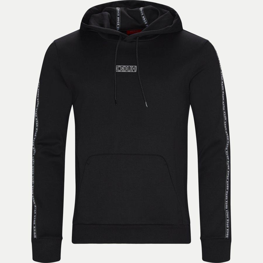 50410571 DERCOLANO - Dercolano Hoodie - Sweatshirts - Regular - SORT - 1