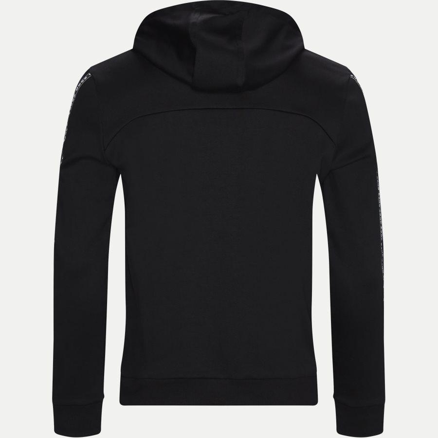 50410571 DERCOLANO - Dercolano Hoodie - Sweatshirts - Regular - SORT - 2