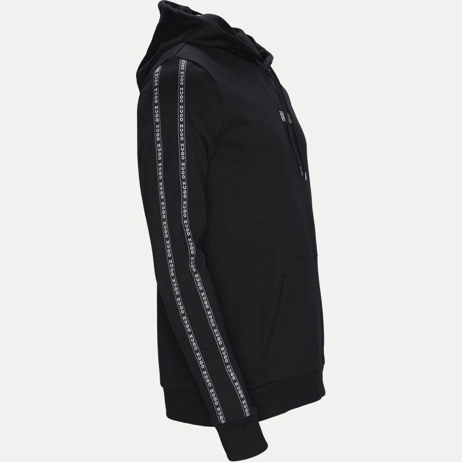 50410571 DERCOLANO - Dercolano Hoodie - Sweatshirts - Regular - SORT - 3