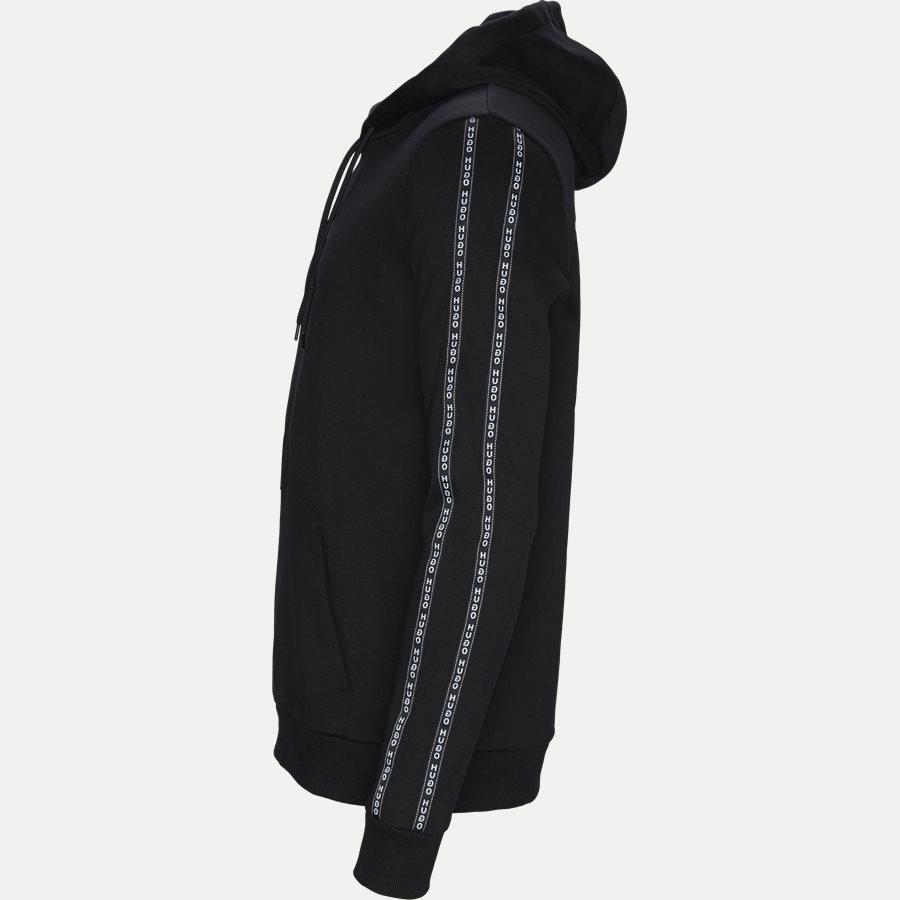 50410571 DERCOLANO - Dercolano Hoodie - Sweatshirts - Regular - SORT - 4