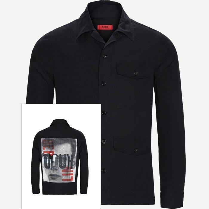 Skjortor - Regular - Svart