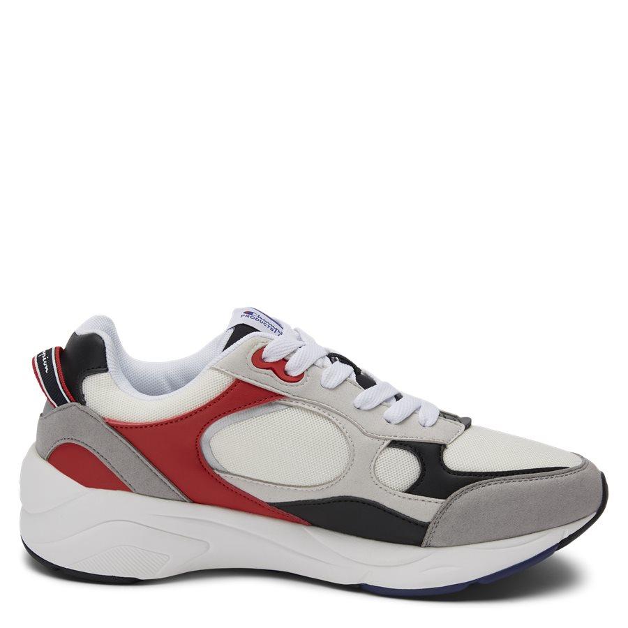 LEXINGTON SUEDE S21217 - Lexington Suede Sneaker - Sko - HVID/RØD - 2