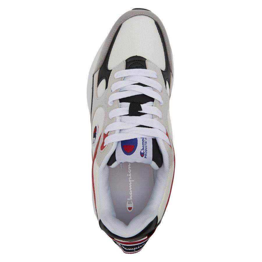 LEXINGTON SUEDE S21217 - Lexington Suede Sneaker - Sko - HVID/RØD - 8