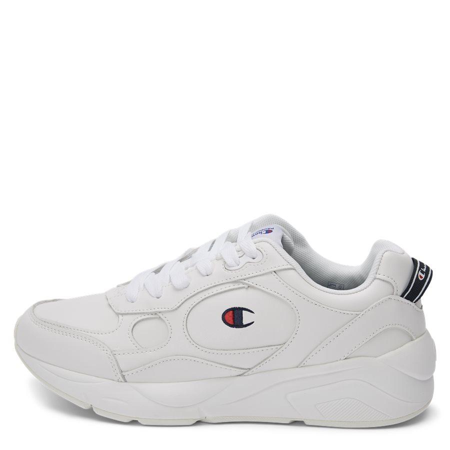 LEXINGTON SUEDE S21218 - Lexington Suede Sneaker - Sko - HVID/HVID - 1