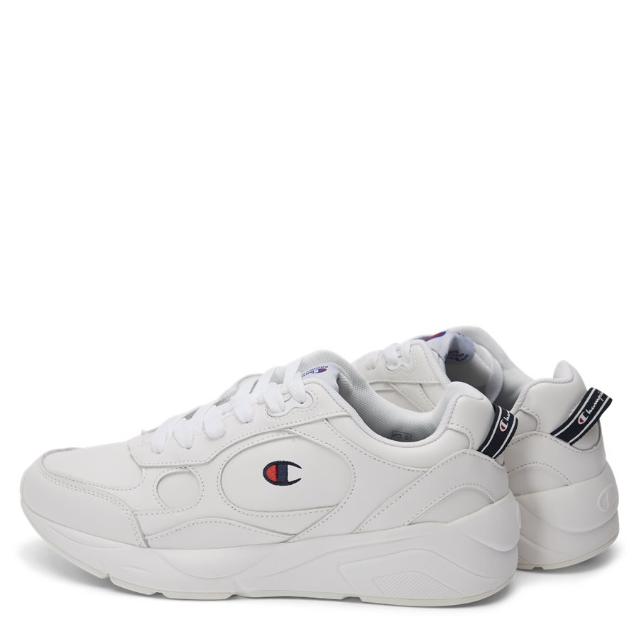 LEXINGTON SUEDE S21218 - Lexington Suede Sneaker - Sko - HVID/HVID - 3