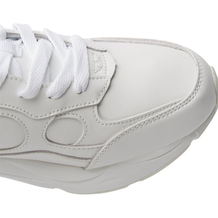 LEXINGTON SUEDE S21218 - Lexington Suede Sneaker - Sko - HVID/HVID - 4