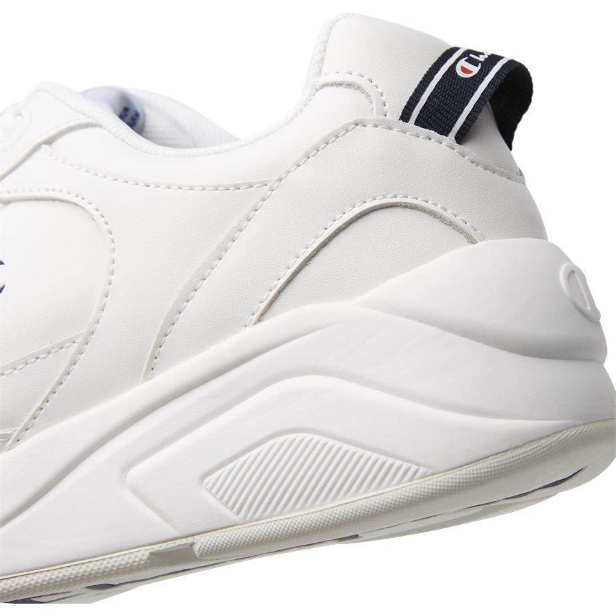 LEXINGTON SUEDE S21218 - Lexington Suede Sneaker - Sko - HVID/HVID - 5