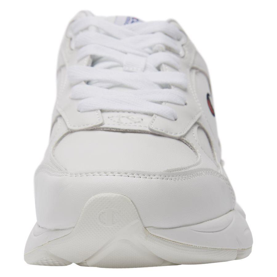 LEXINGTON SUEDE S21218 - Lexington Suede Sneaker - Sko - HVID/HVID - 6