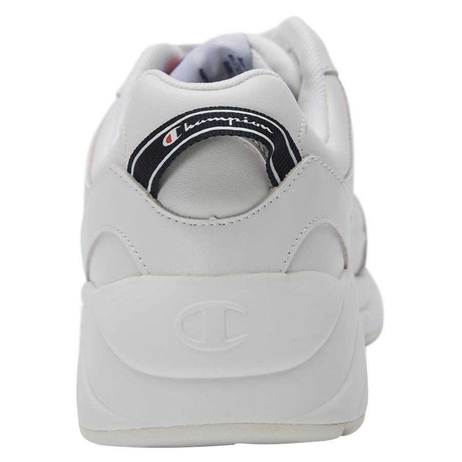 LEXINGTON SUEDE S21218 - Lexington Suede Sneaker - Sko - HVID/HVID - 7