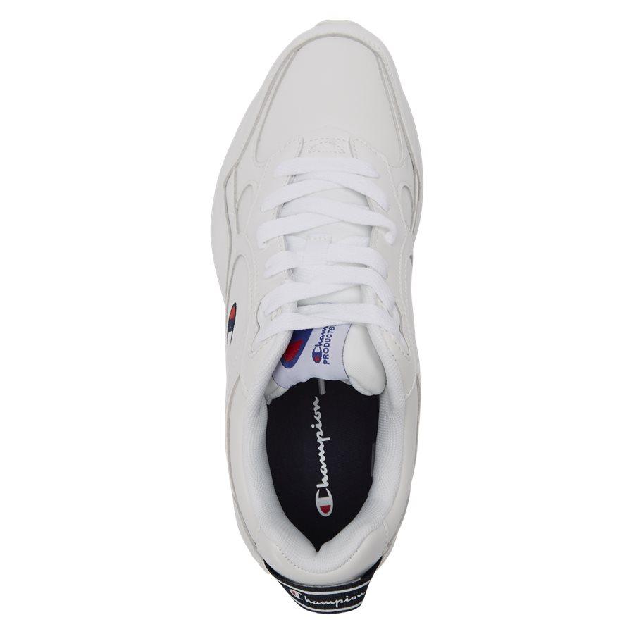 LEXINGTON SUEDE S21218 - Lexington Suede Sneaker - Sko - HVID/HVID - 8
