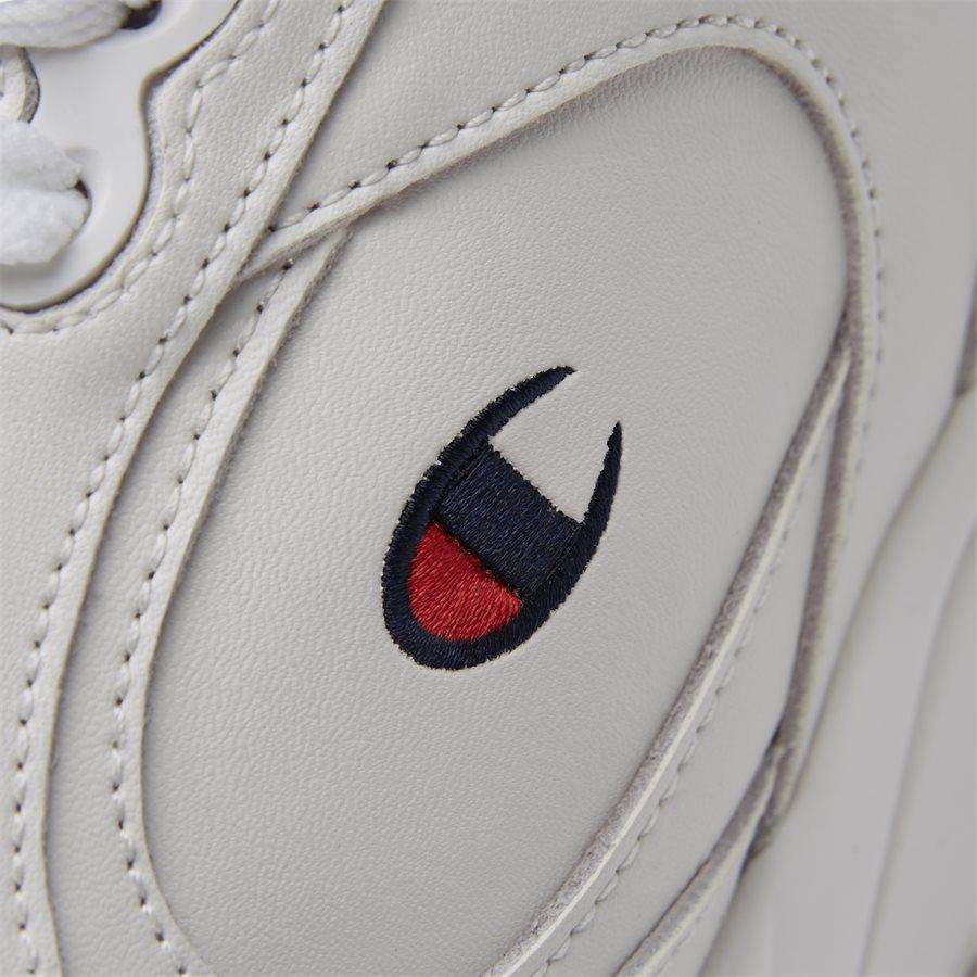 LEXINGTON SUEDE S21218 - Lexington Suede Sneaker - Sko - HVID/HVID - 10