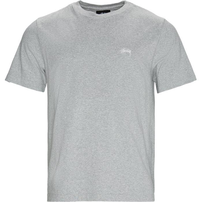 SS Stock Crew Tee - T-shirts - Regular - Grå