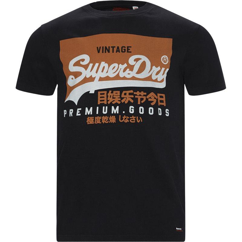 superdry – Superdry m1000059a t-shirts sort fra quint.dk