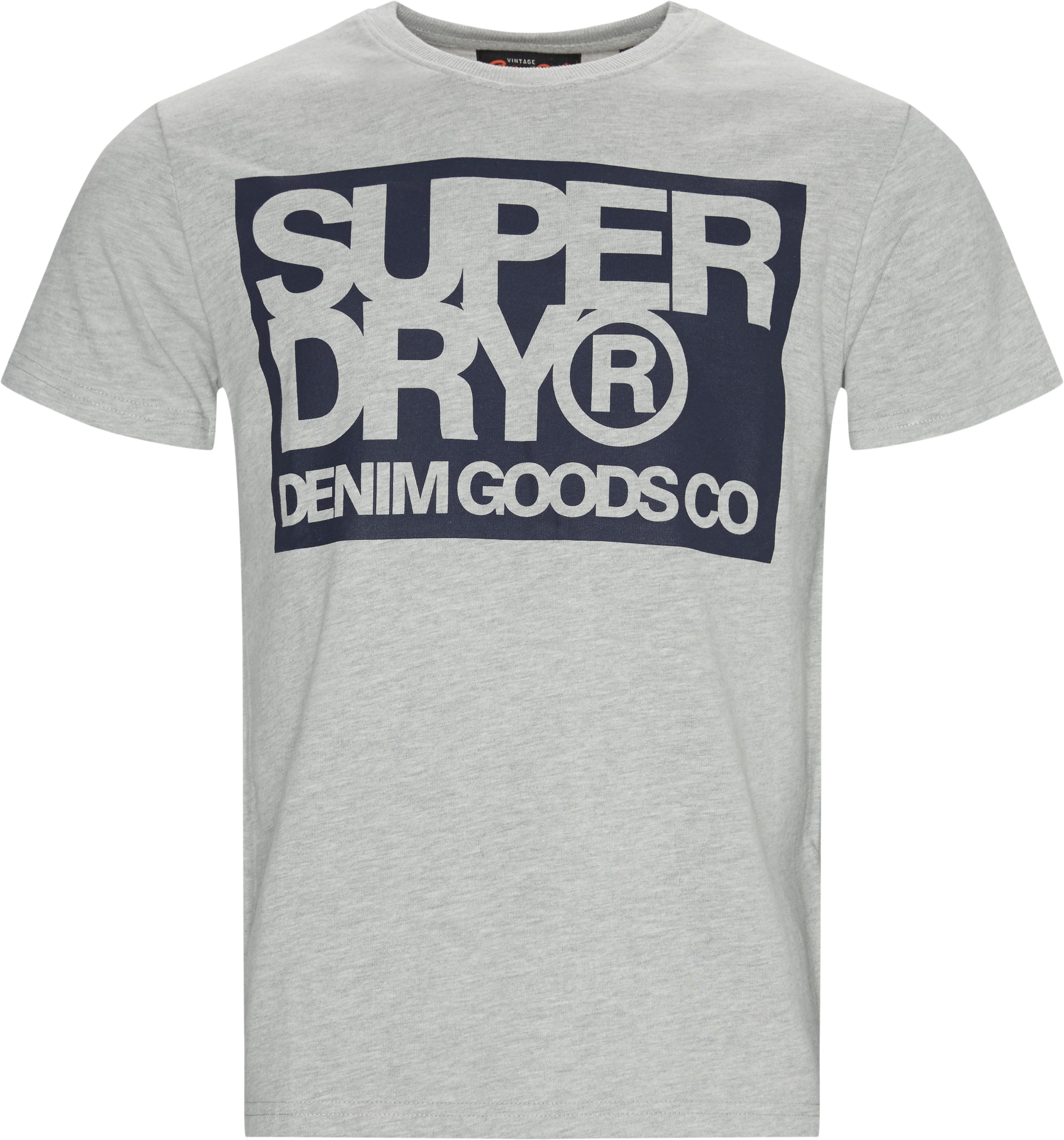 M1000003A Tee - T-shirts - Regular - Grå