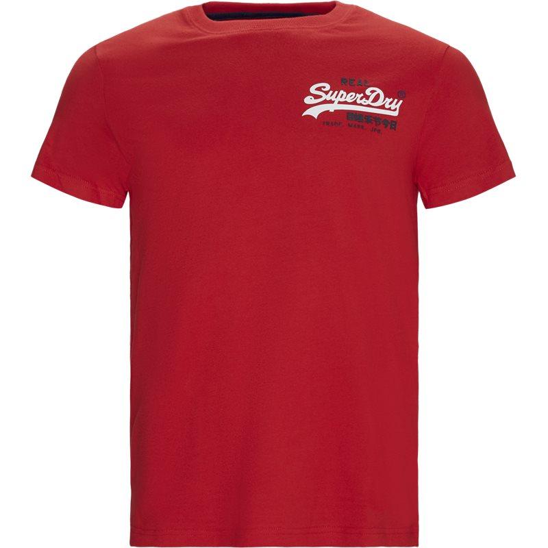 superdry Superdry m1000061a t-shirts rød fra quint.dk